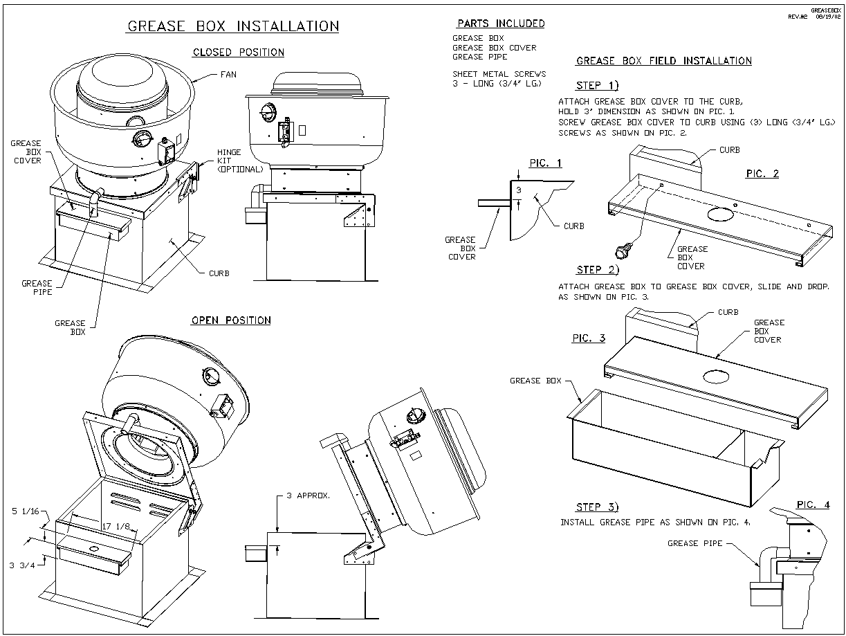 [SCHEMATICS_4LK]  Grease Box Installation | Captive Aire Exhaust Hood Wiring Diagram |  | CaptiveAire