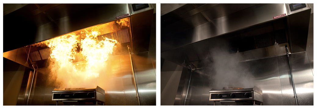 Commercial Kitchen Hood Fire Protection