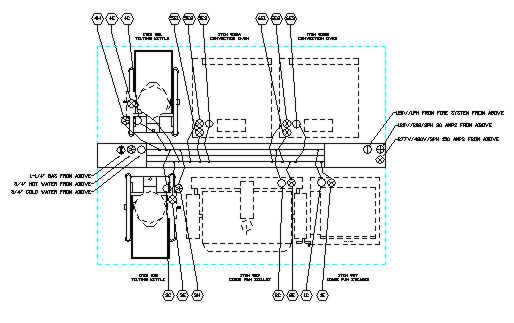 Kitchen Hood Drawing Commercial Kitchen Ventilation