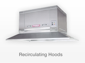 RECIRCULATING HOODS
